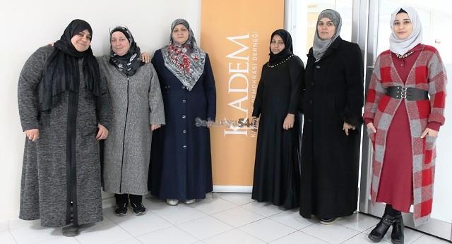 Sığınmacı Kadınlar Meslek Sahibi Oluyor