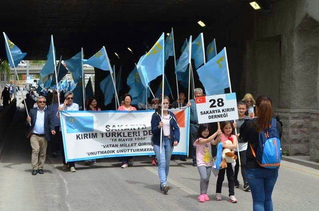 Sakaryalı Kırım Türkleri'nden Rusya Federasyonu'na tepki