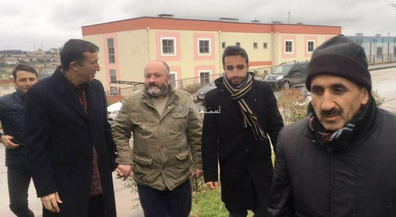 Hasan Ali Çelik,Taziye Ziyaretinde bulundu
