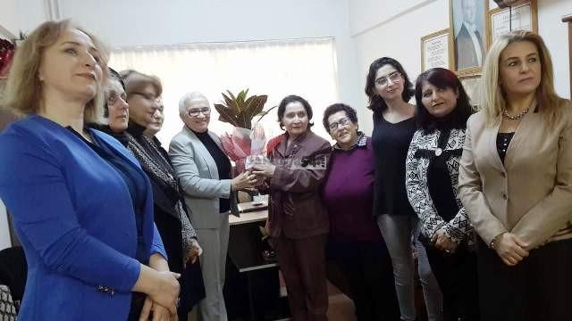 Tevhide YAĞAN 'ı CHP Serdivan İlçesi Kadın Kolları ziyaret  etti