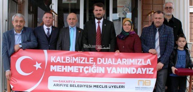 Arifiye Belediyesi Meclis Üyelerinden Afrin Kahramanlarına Ziyaret…