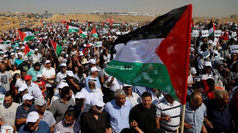 Siyonist İsrail Filistin Halkını katletmeye, kan içmeye doymuyor!