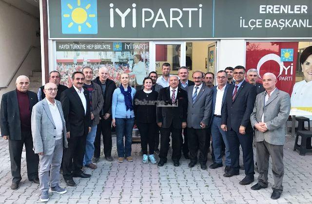 Kaymakam Salih KARABULUT  İYİ Parti Erenler'i  ziyaret etti