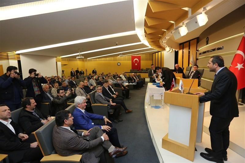 SATSO'da Meclis Başkanlığı'na Talip Kuriş Seçildi