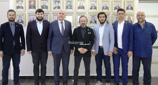 SAADET Partisinden Başkan Kazan'a Ziyaret