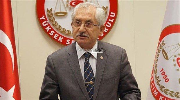 YSK Başkanı Güven'den erken seçim takvimi açıklaması