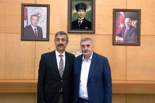 Lütfi  Bayraktar'dan Toçoğlu'na ziyaret