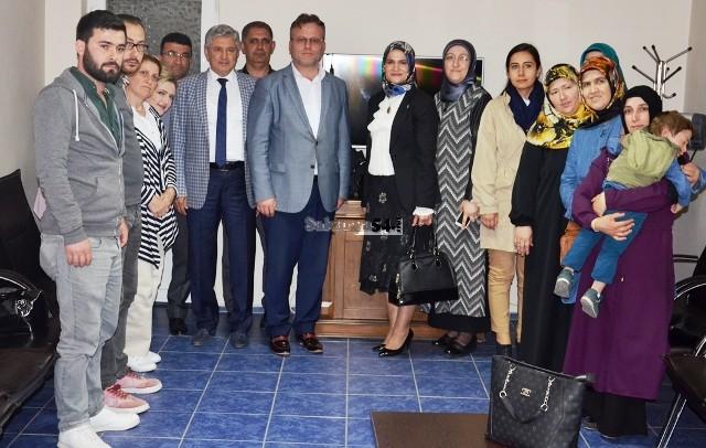 Bafralıoğlu, teşkilat ziyaretlerine hızlı başladı