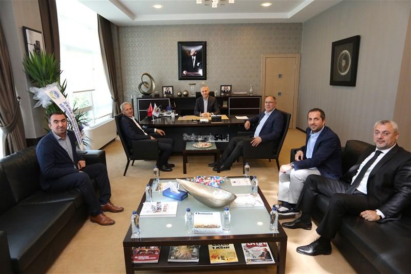 Başkan Dişli'den Satso Yönetimi'ne Ziyaret
