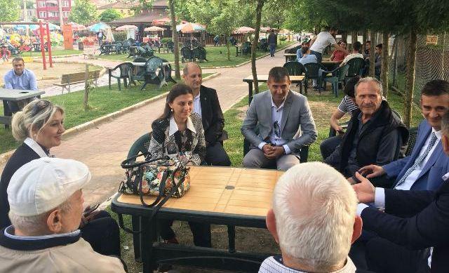 Ümit Dikbayır ve Zeynep Emecan Ulusinan Ferizli 'de