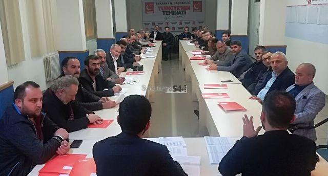 Saadet Partisi'nde Strateji Toplantısı
