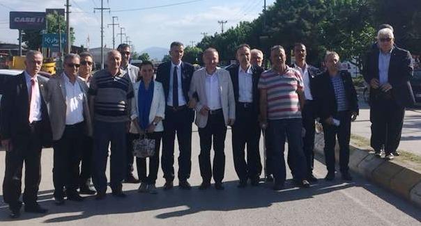 İYİ Parti Sakarya Milletvekili  adayları  Akyazı'da
