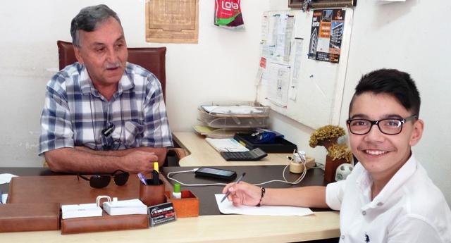 Bahadır Alemdaroğlu: duayen gazeteci Mehmet Uzun ile  röportaj yaptı