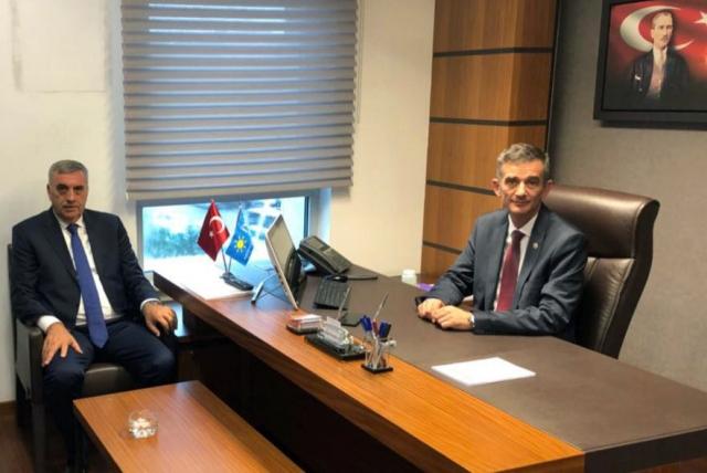 Toçoğlu, AK Parti, MHP, CHP ve İYİ Parti Milletvekillerine hayırlı olsun ziyareti
