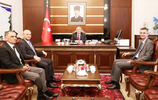 Milletvekili Dikbayır dan Vali Nayir e Ziyaret