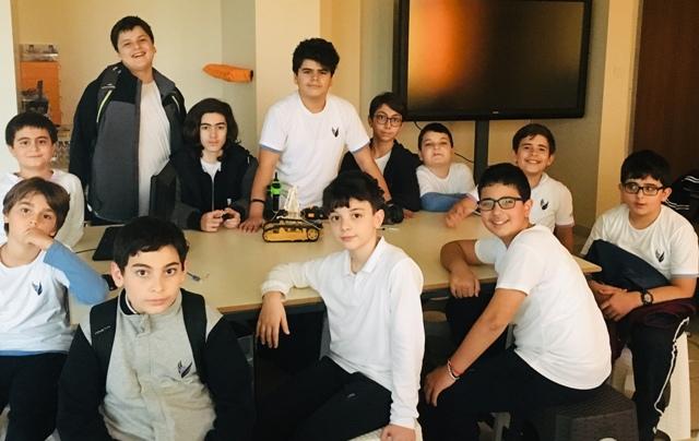 Şahin Okulları Robotik Kulübü Uluslararası Proje Başarısı!