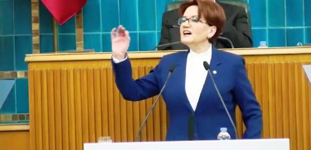 İYİ Parti Genel Başkanı Meral Akşener grup toplantısında Tank Palet'i konuştu: