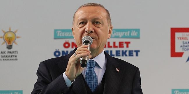 Cumhurbaşkanı Erdoğan, Sakarya Belediye Başkan Adaylarını Tanıtım Toplantısı'na katıldı