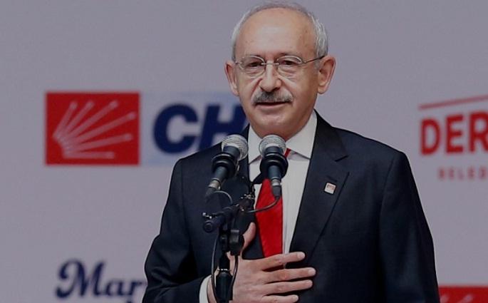 """CHP Genel Başkanı Kemal Kılıçdaroğlu """"Bizim mücadelemiz ekmek mücadelesidir"""""""