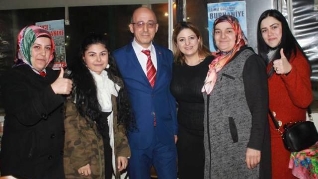 """Nuri Bayraktar """"Aile Yemeği"""" ile Seçim startını verdi."""