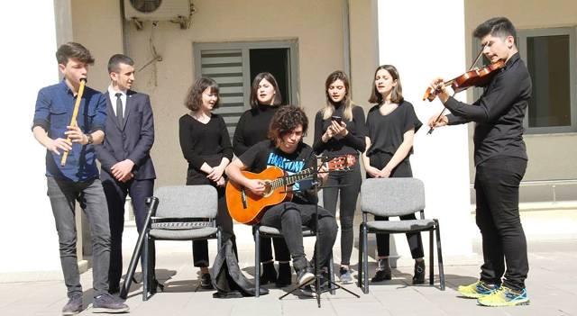 Güzel Sanatlar Lisesi'nden 'Milletin Sesi Mehmet Akif' konulu resim sergisi