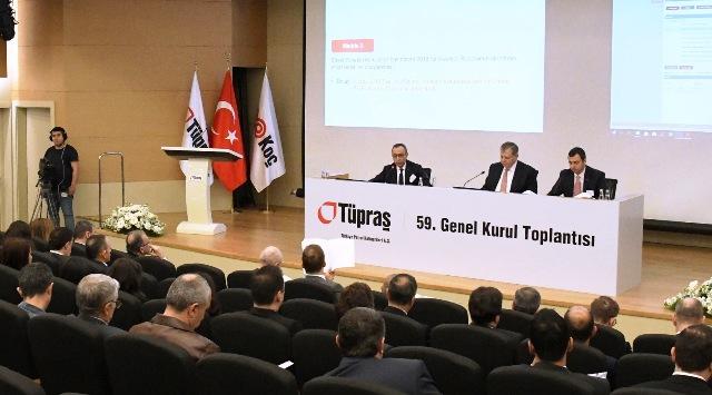 Tüpraş'ın 59. Genel Kurul Toplantısı Gerçekleşti