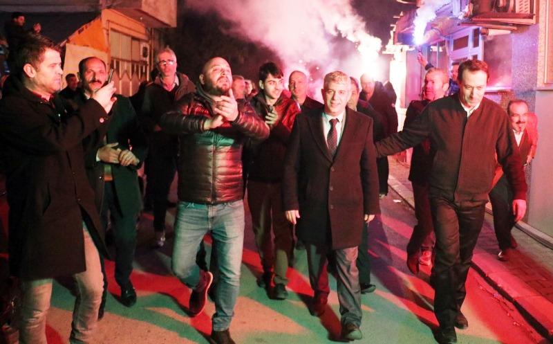 Dr. Aydoğan Arslan, Şeker Mahalle'si sakinleri ile bir araya geldi
