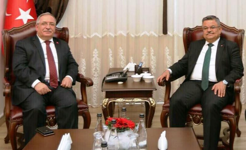 Bilecik Milletvekili Selim Yağcı dan Vali Nayir'e Ziyaret