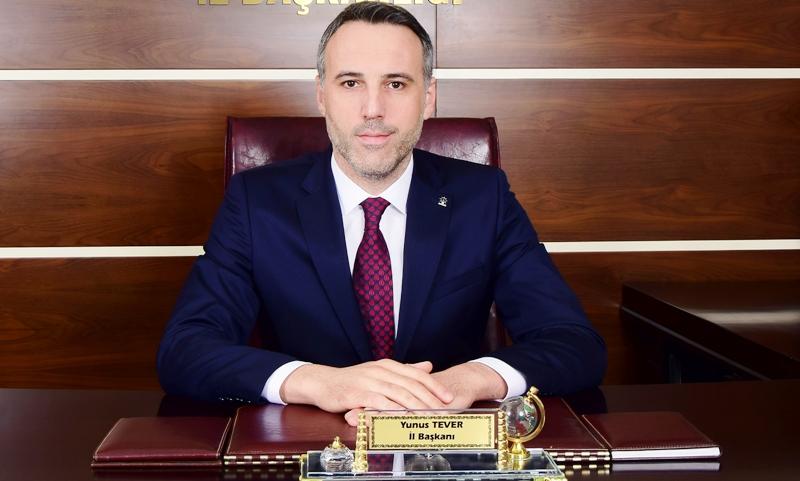 AK Parti Sakarya İlBaşkanı Yunus Tever'in 29 Ekim Cumhuriyet Bayramı Mesajıdır.
