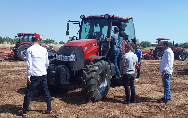 Case IH, Güneydoğu Anadolu'da Çiftçilerle buluştu