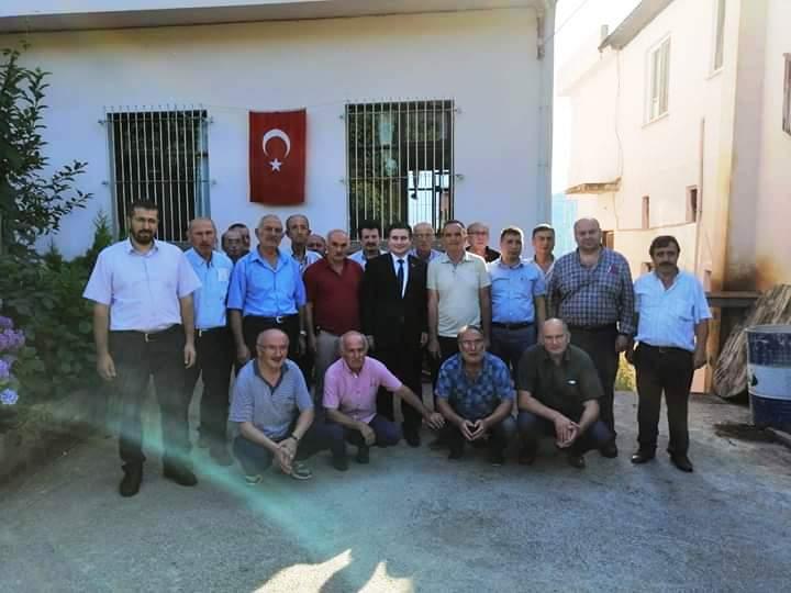 """Keşap'ın Yeni Kaymakamı Osman Acar'a """"Hoşgeldin"""" Ziyareti"""