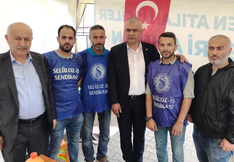 """CHP Sakarya"""" Direnen İşçinin Yanındayız"""""""