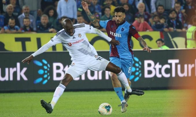 Trabzonspor, Beşiktaş'a patladı: 4-1