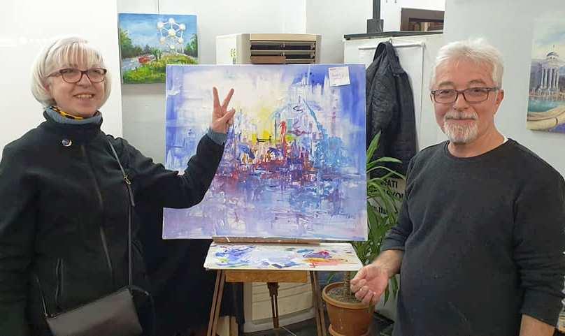 Ressam Oğuz Aydın'ın GEZİ NOTLARI Resim Sergisi SAGÜSAD'da