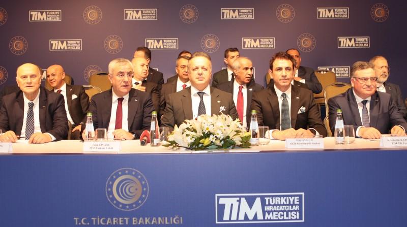 Türkiye'nin ihracatı 2020 yılı ocak ayında yüzde 6,1 artışla 14 milyar 765 milyon dolar oldu.