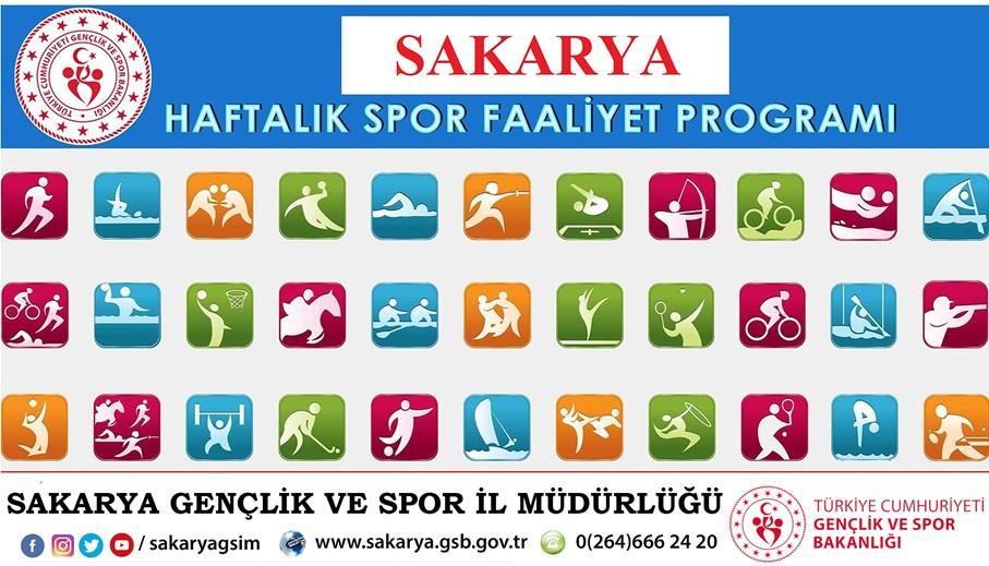 Gençlik ve Spor İl Müdürlüğü 08-14 Şubat 2020 Tarihleri arası Haftalık Spor Faaliyetleri