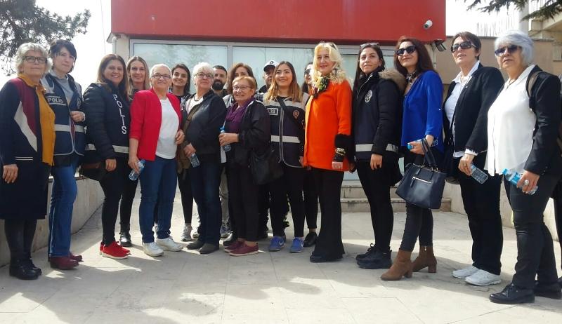 8 Mart Dünya Emekçi Kadınlar Günü Bilecik'te Aktivitelerle Kutlandı