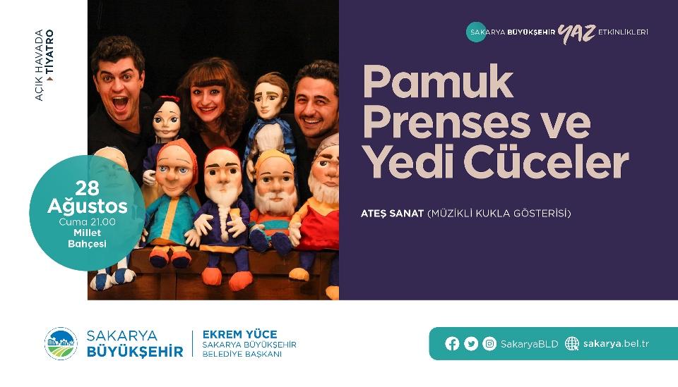 Büyükşehir Yaz Kültür Sanat Etkinlikleri başlıyor