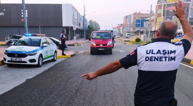 Sakarya'da Toplu taşımada COVID denetimleri arttı