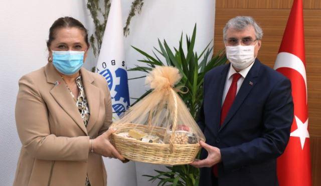 """Ekrem YÜCE""""Kosova ile ticari ve tarımsal işbirliğimizi daha ileri taşıyacağız"""""""