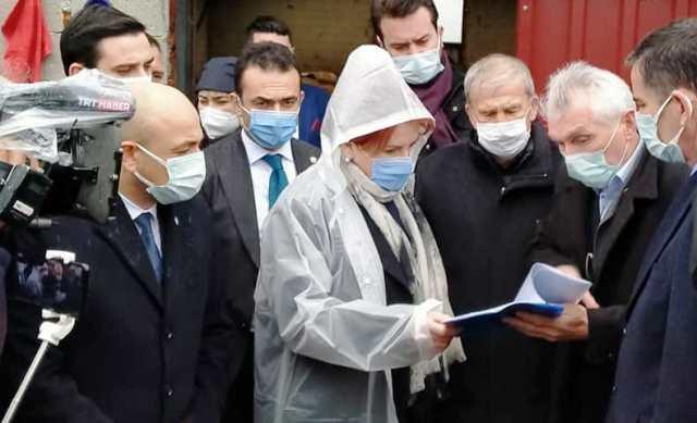 İYİ Parti Genel Başkanı Meral Akşener  Ölümü gerçekleşen Esnaf  ile Hayvan Üreticilerini dinledi