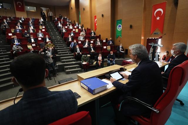 2021'in ilk Sakarya Büyükşehir Meclisi toplanıyor