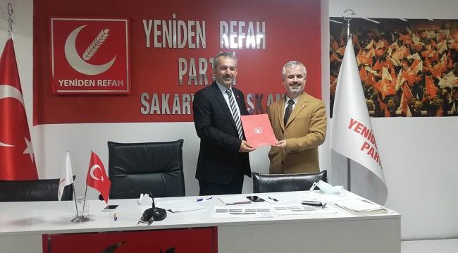Yeniden Refah'ta İl Teşkilat Başkanı Biran Yasa oldu.