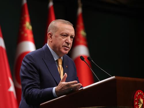 """Cumhurbaşkanı Erdoğan""""Mart ayı başı itibarıyla kademeli normalleşme sürecini başlatıyoruz"""""""