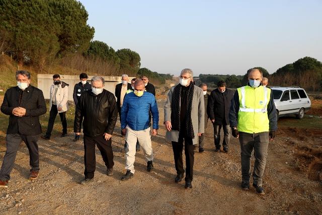 Melen Botanik Vadisi tanıtım törenine hazırlanıyor