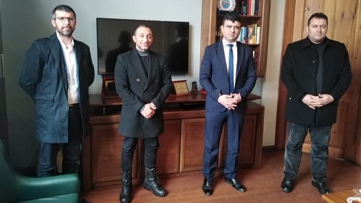 Mehmet DEMİR ve Erol Gözütok'tan Narin'e ziyaret