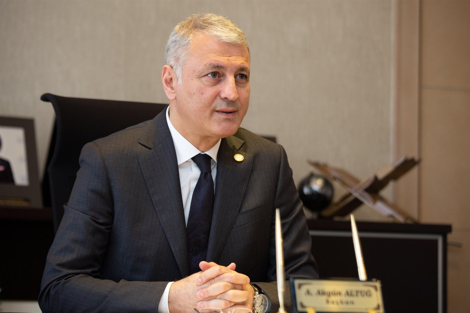 Başkan Altuğ'dan Regaip Kandili Kutlama Mesajı