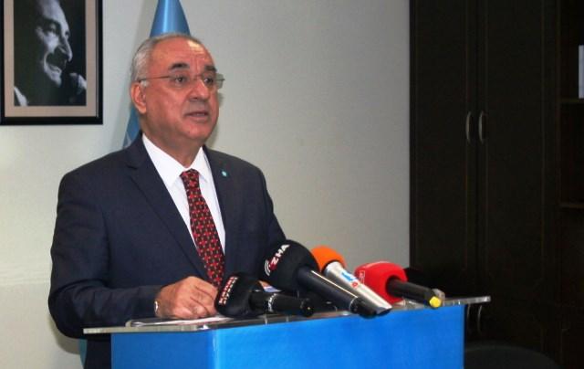 DSP Genel Başkanı Aksakal Gündemi Değerlendirdi.