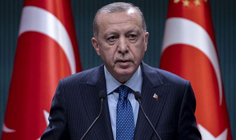Cumhurbaşkanı Erdoğan'dan 'kısıtlamaların kaldırılmasına' ilişkin açıklama