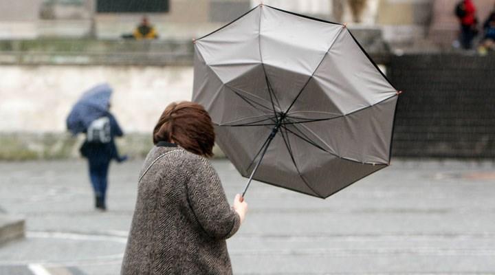 Meteoroloji'den 14 il için fırtına uyarısı